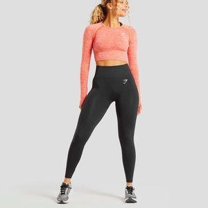 Gymshark Gray Vital Seamless Workout Leggings S